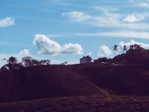 Beau paysage de montagne Photo stock