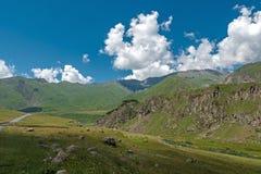 Beau paysage de montagne d'ummer de ‹de Ñ Photos stock