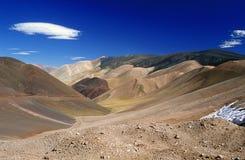 Beau paysage de montagne dans les Andes Image stock