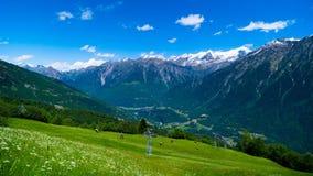 Beau paysage de montagne en Suisse Kanton Tessin photo libre de droits