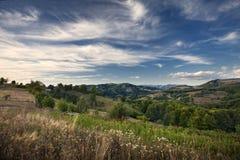 Beau paysage de montagnes Photographie stock