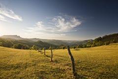 Beau paysage de montagnes Images libres de droits