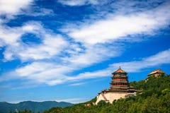 Beau paysage de palais d'été Photo libre de droits