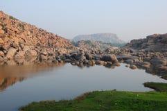 Beau paysage de pierres Photo libre de droits