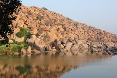 Beau paysage de pierres Photographie stock
