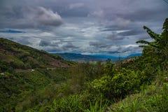 Beau paysage de Sumatra photos stock