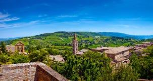 Beau paysage de Toscane Photo libre de droits