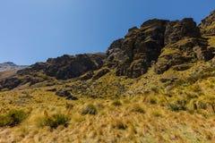 Beau paysage de vallée de montagne Photos libres de droits