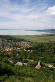 Beau paysage de village images libres de droits
