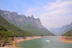 Beau paysage de Yuntaishan photographie stock