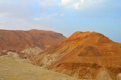 Beau paysage des formations et des dunes de roche Images libres de droits
