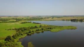 Beau paysage du lac Vymno clips vidéos