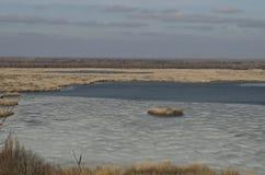 Beau paysage en Bulgarie du nord images stock