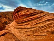 Beau paysage en Am?rique, canyon de mamie et skys bleus photo stock