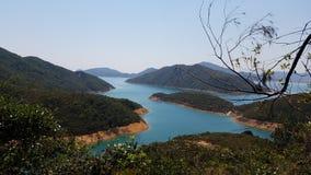 Beau paysage en Sai Kung, Hong Kong photographie stock libre de droits