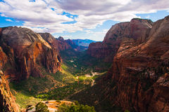 Beau paysage en Zion National Park, Utah image stock