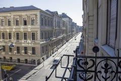 Beau paysage et vue urbaine de Budapest, rues, bâtiments hungary images libres de droits