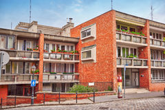 Beau paysage et vue urbaine de Budapest, rues, bui Images libres de droits
