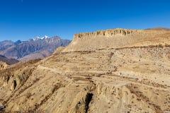 Beau paysage, Himalaya, Népal Image libre de droits