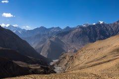 Beau paysage, Himalaya, Népal Photos stock
