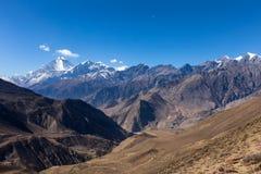 Beau paysage, Himalaya, Népal Images stock