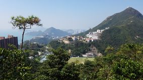 Beau paysage, Hong Kong images stock