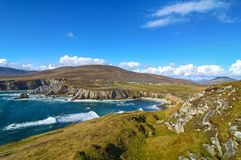 Beau paysage irlandais rural de nature de pays d'Irlande images libres de droits