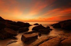 Beau paysage marin Photographie stock