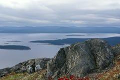 Beau paysage marin Photo libre de droits