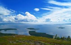 Beau paysage marin Images libres de droits