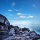 Beau paysage marin de matin Photos libres de droits