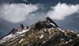 Beau paysage montagneux photographie stock libre de droits