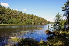 Beau paysage montagneux de la Norv?ge images stock
