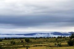Beau paysage montagneux de la Norv?ge photographie stock