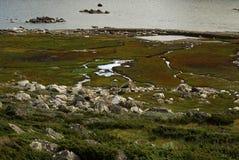 Beau paysage montagneux de la Norv?ge photos stock