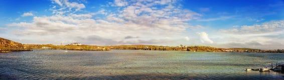 Beau paysage panoramique dans Crookhaven Photo libre de droits
