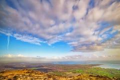 Beau paysage panoramique dans un comté Kerry Image stock