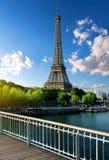 Beau paysage parisien Photos stock