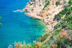Beau paysage pendant l'été Photographie stock libre de droits