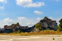 Beau paysage rocheux, Asie, Thaïlande Photographie stock