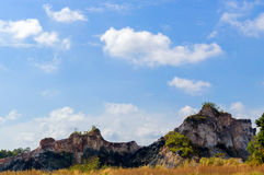 Beau paysage rocheux, Asie, Thaïlande Photos stock