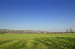 Beau paysage rural Images libres de droits