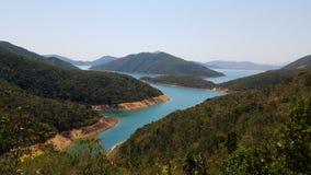 Beau paysage, Sai Kung, Hong Kong images libres de droits