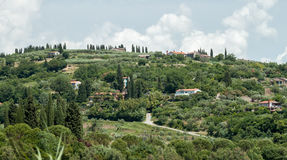 Beau paysage Strugnano Slovénie Photographie stock