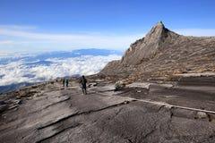 Beau paysage sur la montagne de Kinabalu en parc national de Kinabalu Photos stock