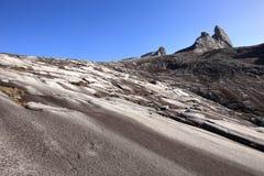 Beau paysage sur la montagne de Kinabalu en parc national de Kinabalu Image libre de droits