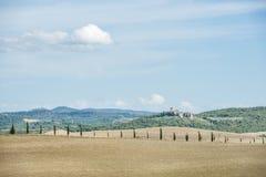 Beau paysage Toscane Image stock