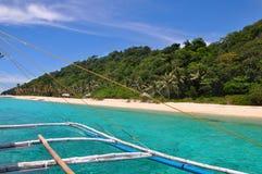 Beau paysage tropical de Boracay image stock