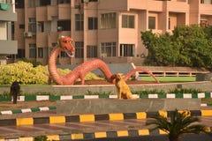 Beau paysage urbain chez Visakhapatnam Images stock