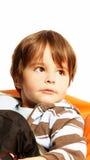Beau petit garçon Photo libre de droits